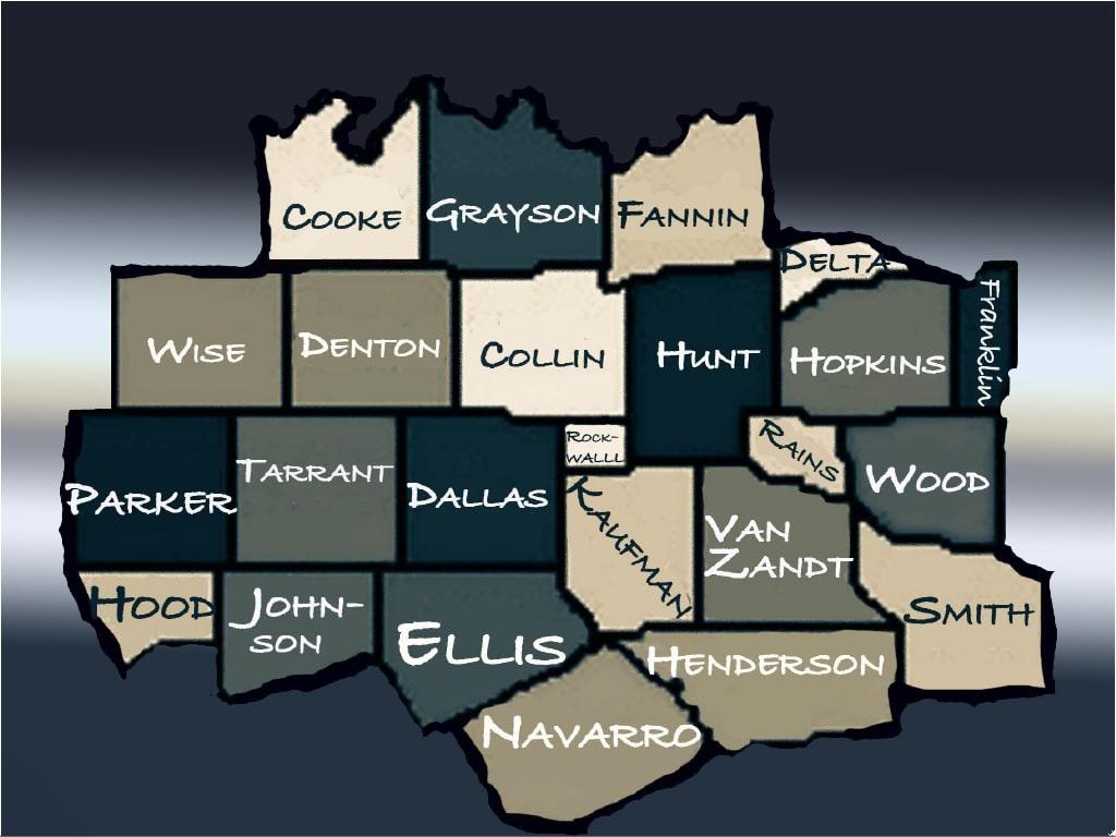 Dallas Co Rockwall Co